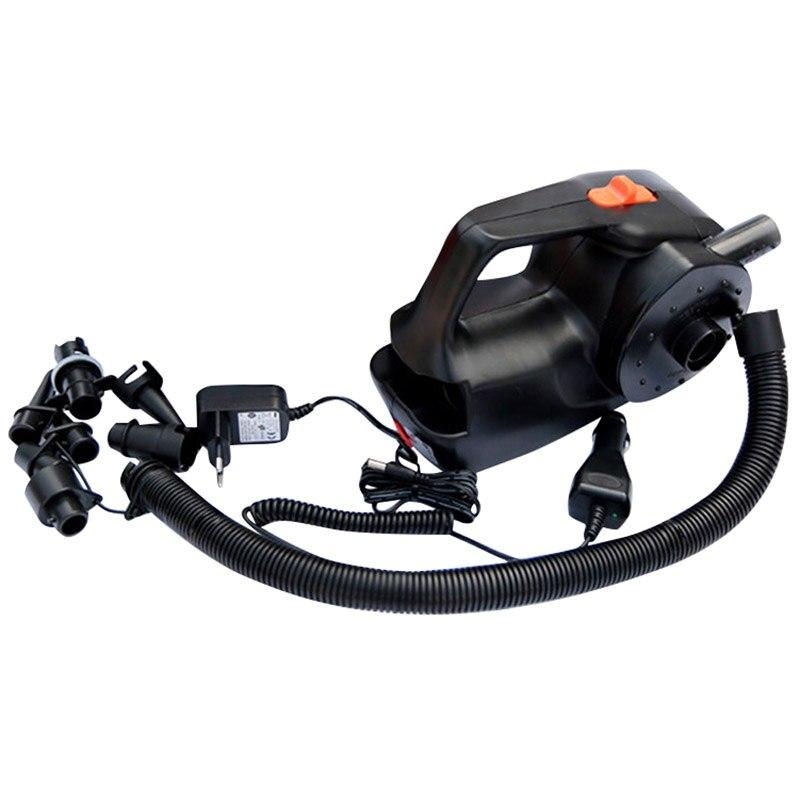 Pompe à Air gonflable électrique de pompe Rechargeable pour la prise gonflable d'ue de lit d'air de bateau de Kayak