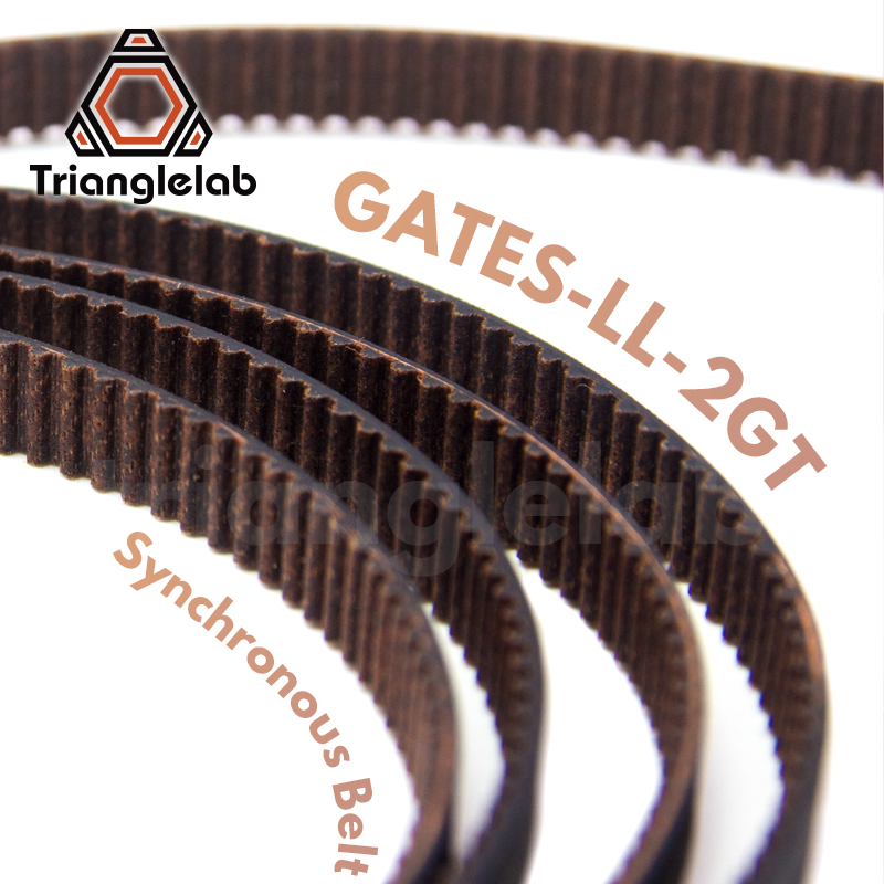 trianglelab GATES-LL-2GT 2GT belt synchronous belt GT2 Timing belt Width 6MM 9MM wear resistant  for Ender3 cr10 Anet 3D Printer