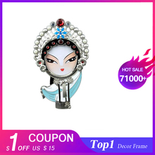 Chinese style features Peking Opera face photo frame Q version of the bulk small gifts