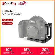 SmallRig L Bracket for Canon 5D Mark IV III DLSR Camera Quick Release Plate Arca Swiss Standard L Shaped Mounting Plate  2202