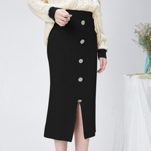 High Waist Winter Knitted Women Skirts 2019 Autumn Warm Casu