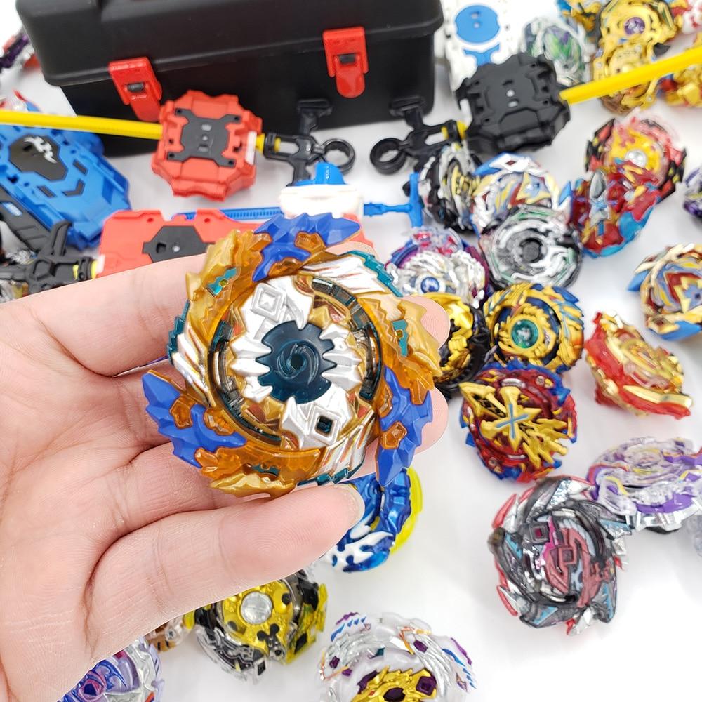 Closeout DealsBeyblade GT Launchers Bables-Top Burst Toy Set Metal for Kids Top-Set