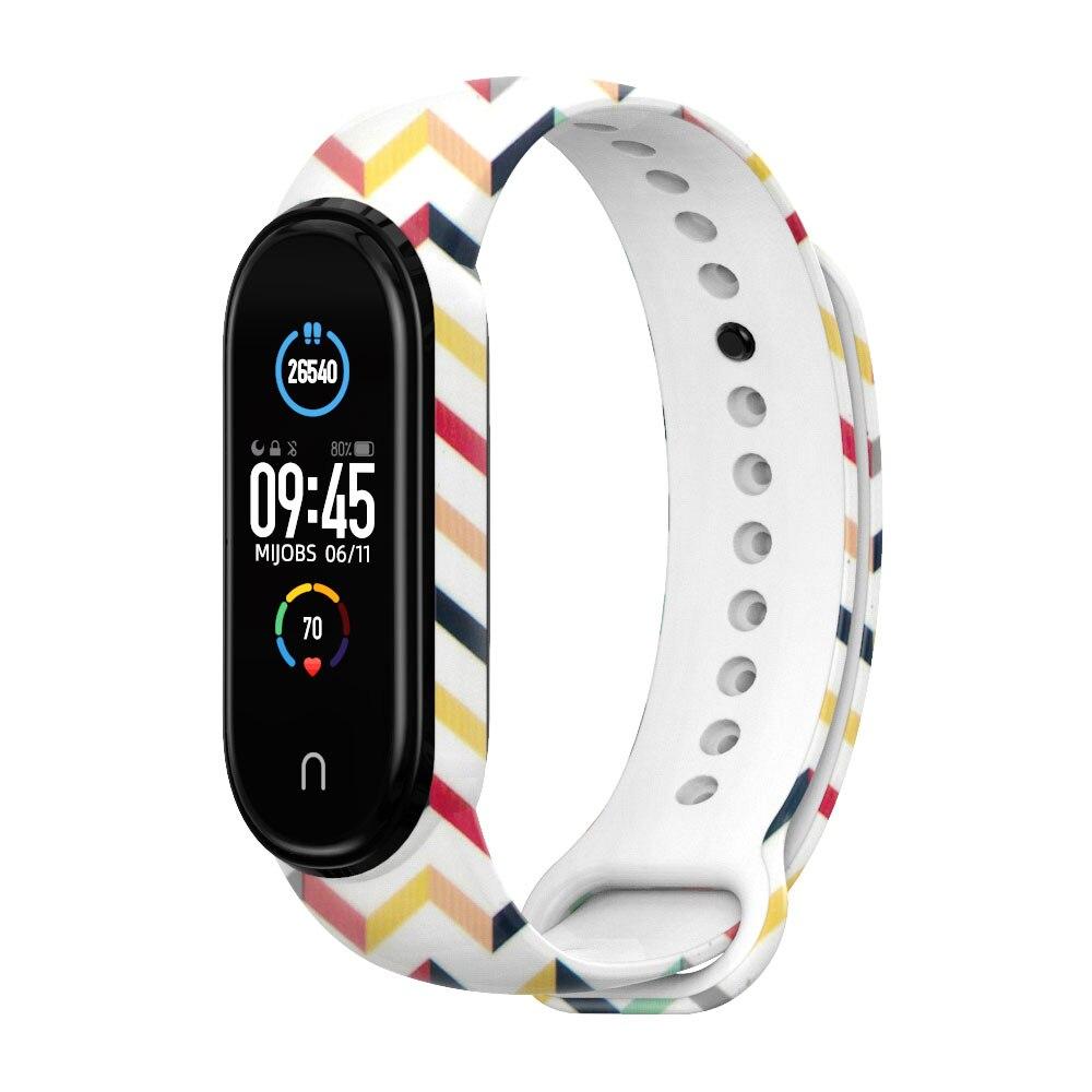 Купить ремешок для mi band 5 силиконовый браслет смарт часов xiaomi