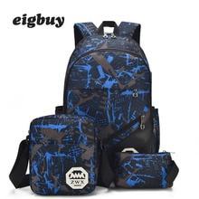 3 Pcs /set Women Backpack School Bags For Women Usb Male School Backpacks For Men Shoulder Travel Bag Large Backpack Sac Mochila цена 2017