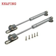 KK& FING поддержка подъема двери шкафа газовая стойка гидравлическая пружинная петля практичная мебельная петля оборудование