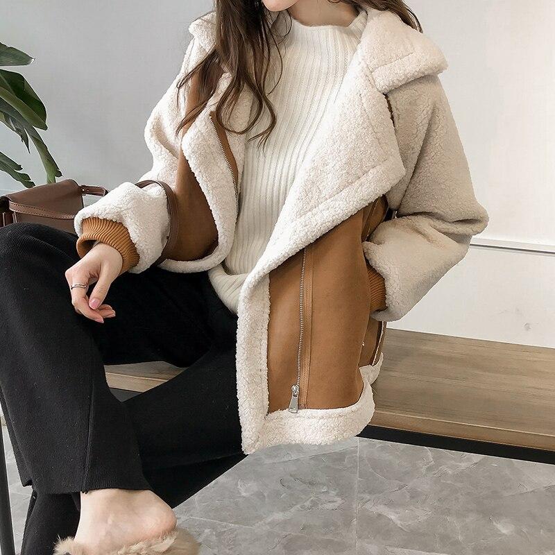 Купить новое поступление женских зимних негабаритных плюшевые куртка