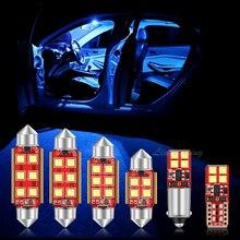 Светодиодная подсветильник светодиодный для салона автомобиля Canbus для Audi A3 8L 8V 8P A4 B5 B6 B7 B8 A5 A6 C5 C6 C7 A7 A8 D2 D3