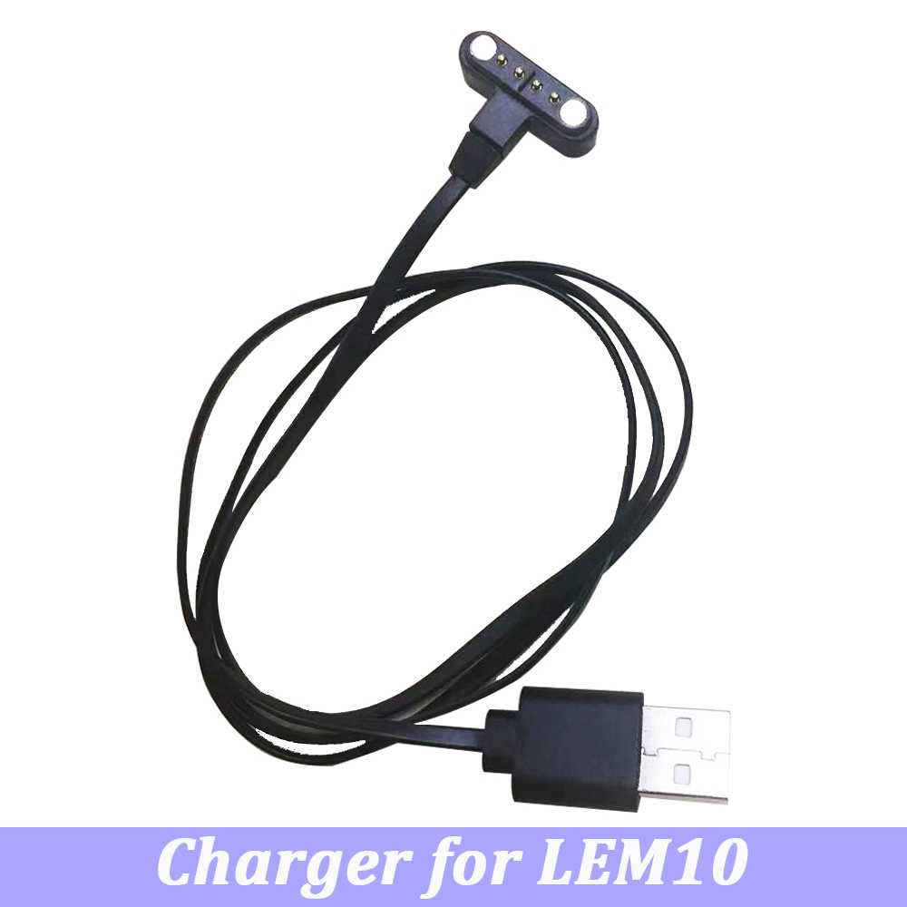 LEMFO LEM10 ساعة ذكية اكسسوارات أصلية كابل شحن استبدال جلدية حزام نايلون واقي للشاشة ل LEM 10