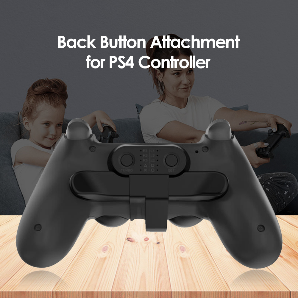 Game Controller Back Button Attachment for SONY PS4 Gamepad Rear Extension Keys Electronic Machine Accessories