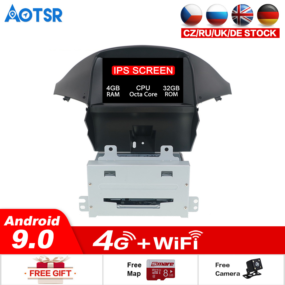 <font><b>Android</b></font> 9.0 32GB ROM Car Stereo For Chevrolet orlando 2011+ Auto <font><b>Radio</b></font> FM DVD Video <font><b>GPS</b></font> Navigation WiFi Rear Camera Audio Stereo image