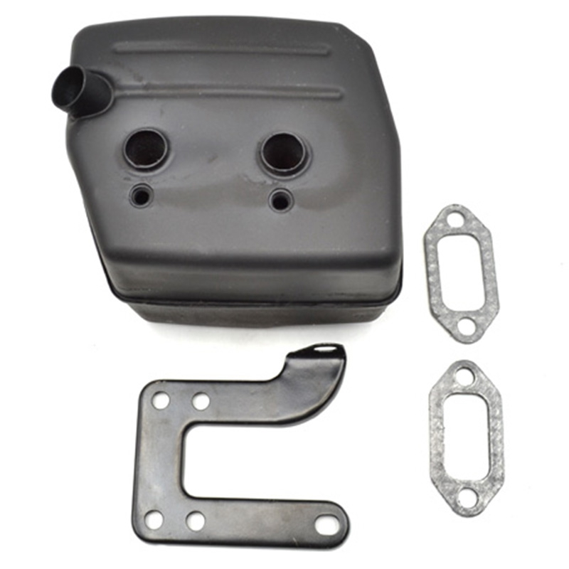 Chainsaw Exhaust Muffler With Support Gasket Plate For Husqvarna 61 66 162 266 268 272 Chainsaws 503476901 503406402