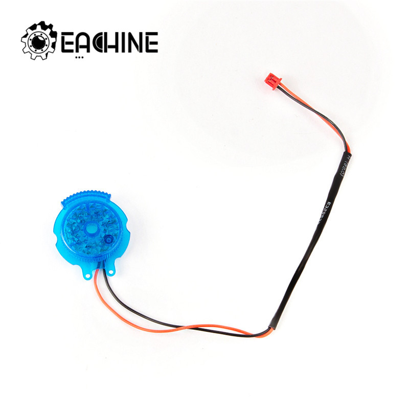 1Pcs <font><b>Eachine</b></font> E520 <font><b>E520S</b></font> WiFi FPV RC Drone Quadcopter Spare Parts Accessories Tail Lamp Cover with LED Light image