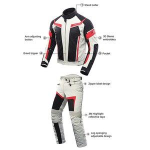 Image 2 - Костюм мужской летний мотоциклетный из дышащей сетчатой куртки и брюк