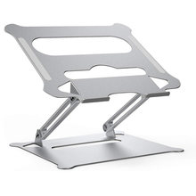 Liga de alumínio ajustável portátil dobrável portátil para notebook macbook computador suporte de levantamento de resfriamento titular antiderrapante