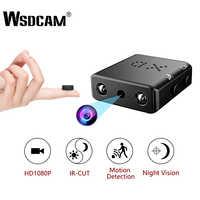 Wsdcam XD IR-CUT Mini Kamera Kleinste 1080P HD Camcorder Infrarot Nachtsicht Micro Cam Motion Erkennung DV DVR Sicherheit kamera