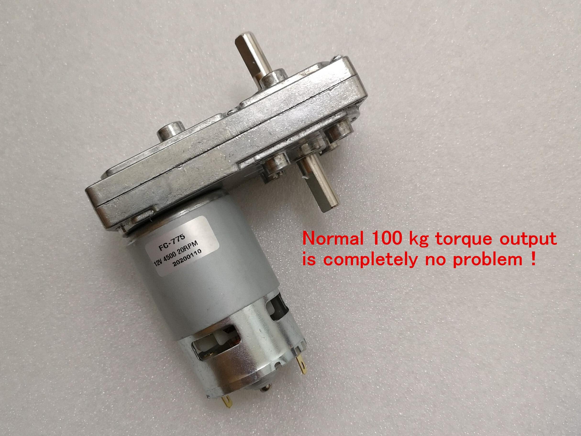 DC 12V 24V 4500RPM Large Torque RS-755 DC Motor D Shaft Electric Tools Model DIY