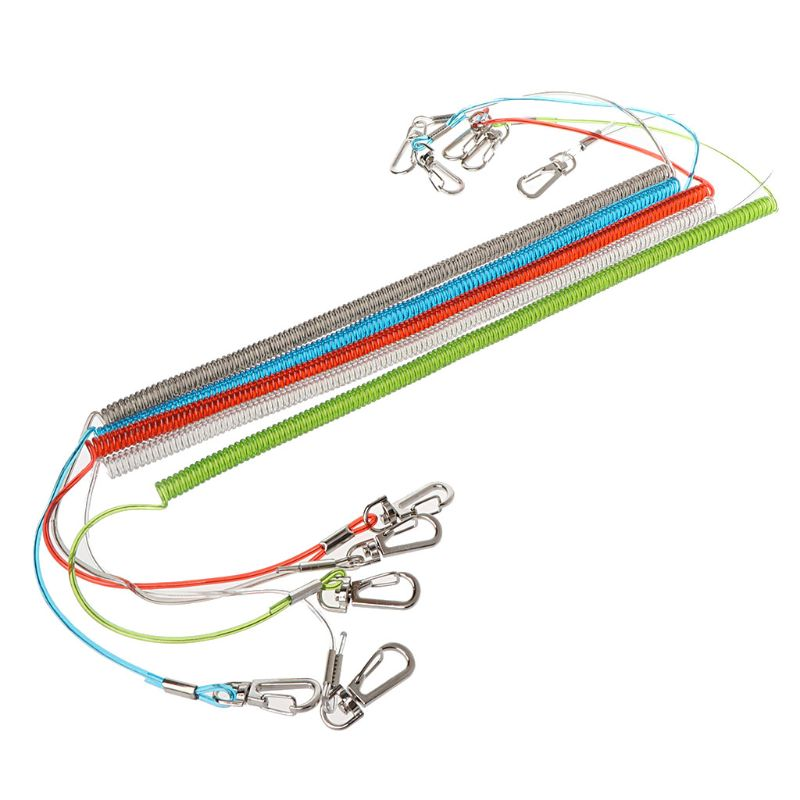 Fishing Rope With Magnetic Buckle TPU Steel Gear Quick Release Cord Accessory