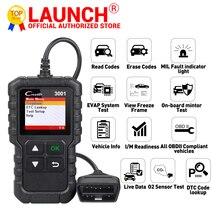 Launch X431 CR3001 Support Full OBDII/EOBD function Creader 3001 diagnostic tool Multilingual code reader scanner PK CR319 OM123