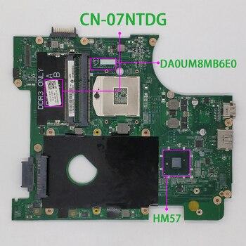 for Dell Inspiron N4010 CN-07NTDG 7NTDG 07NTDG DA0UM8MB6E0 Laptop Motherboard Mainboard Tested 0w15k 00w15k cn 00w15k for dell 1764 laptop motherboard mainboard da0um3mb8e0 ddr3 100% tested