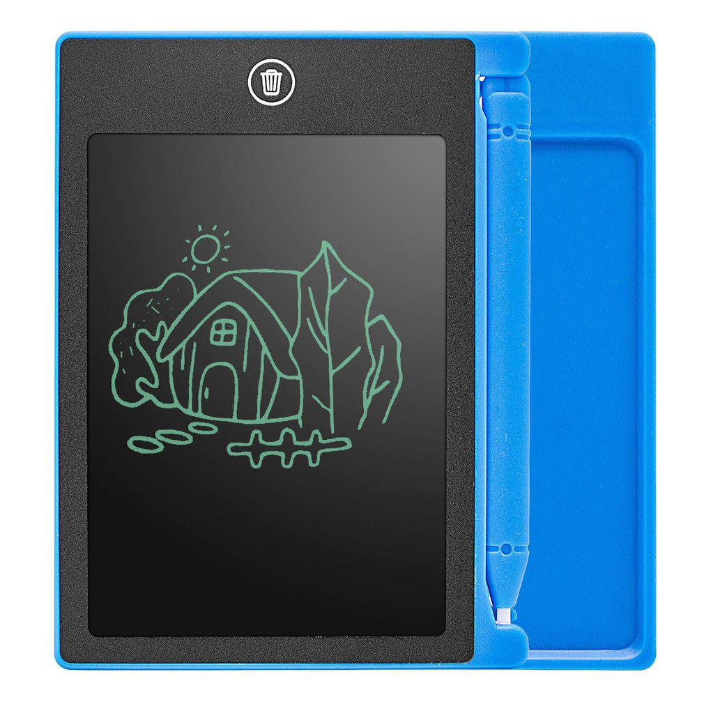 4.4 Inch LCD Writing Tablet Board Kids Writing Pad Drawing Painting Graphics Board Gift Child Creativity Imagination