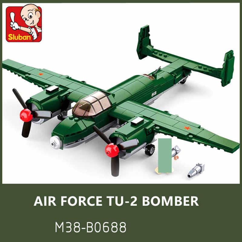 Russischer Bomber M38-B0688 Sluban WWII