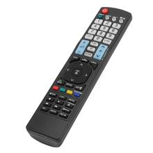 Controle remoto substituto para controle remoto, controle de televisão em plástico preto, para lg a5AKB 72914202 tv