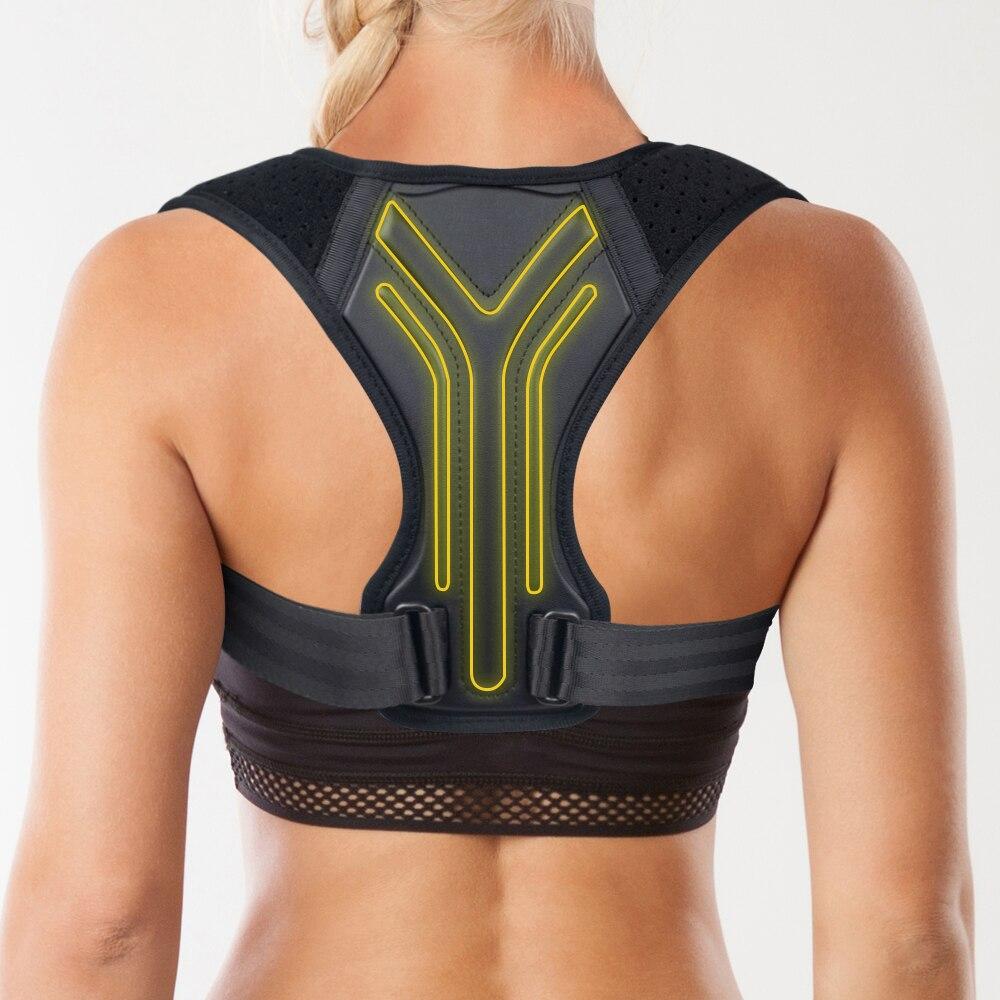 Posture Corrector Back Brace Adjustable Posture Brace For Upper Back Shoulder Pain Relief  Posture Trainer Spine Posture Support