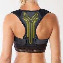 Corrector de postura tirantes para espalda soporte de postura ajustable para la parte superior de la espalda hombro alivio del dolor postura Trainer soporte de postura de la columna vertebral