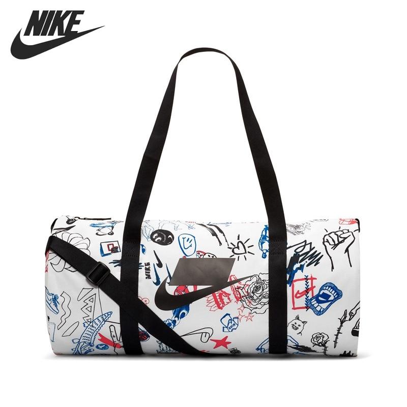Original New Arrival  NIKE NK HERITAGE DUFFLE - GFX Unisex  Handbags Sports Bags