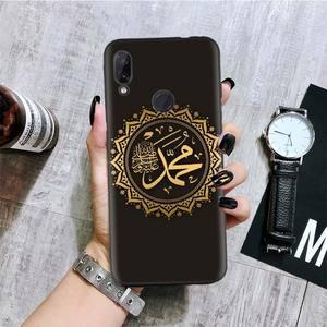 Image 2 - Arabo Musulmano Islamico Nero Del Modello Della Copertura Della Cassa Del Telefono per Xiaomi Redmi Nota 8T 10 9S 8 7 8A 7A 6A Mi 10 9 8 CC9 K20 Pro Lite Coque