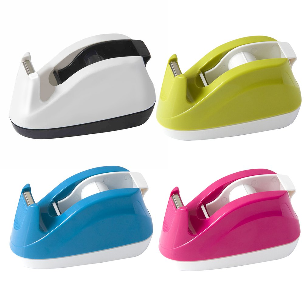 DELI 808 Tape Dispenser Portable Size Candy Color For Adhesive Tape Width Less 18mm Novelty Design Office School Stationary