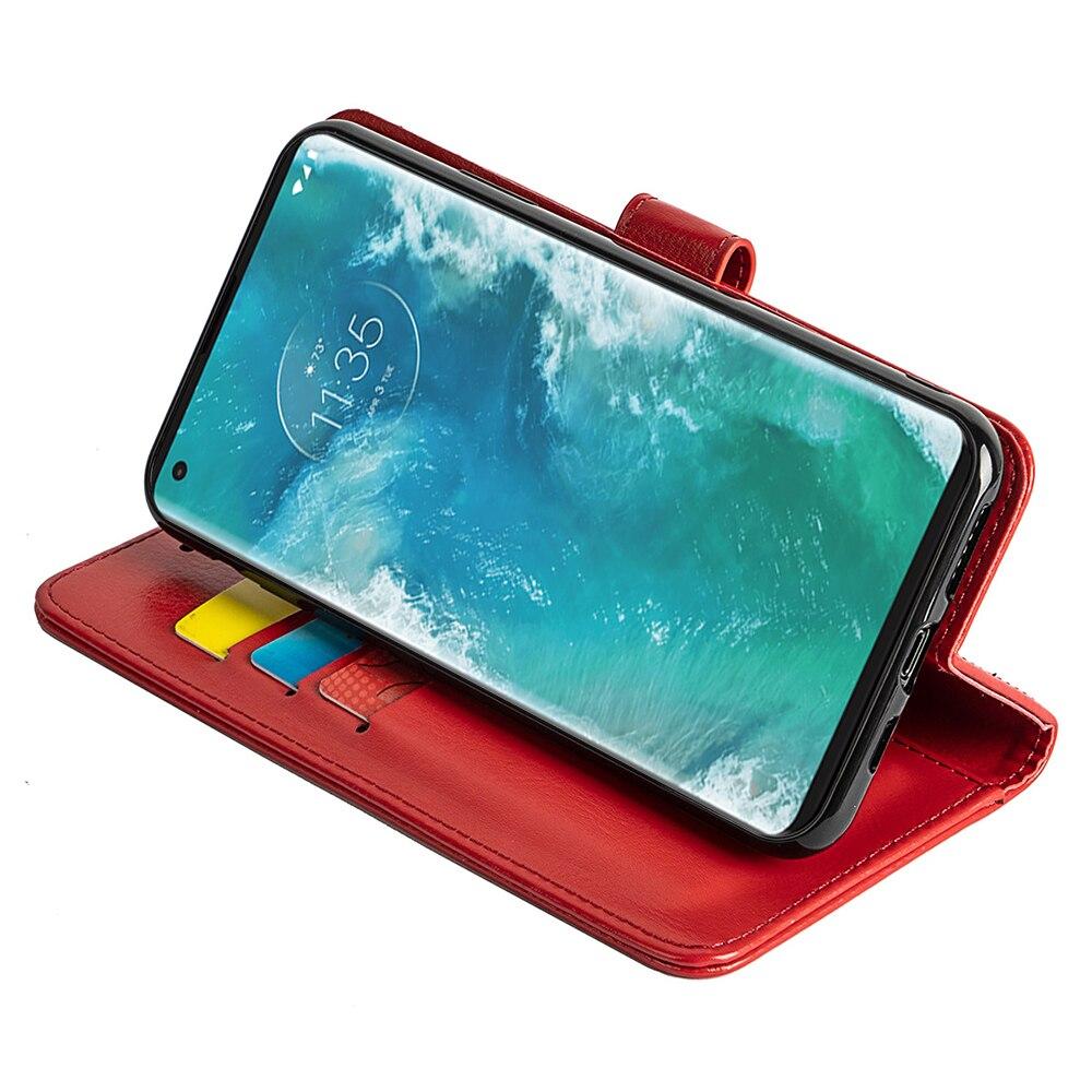 For Motorola Edge Plus Phone Casenew Arrival Fashion Design Soft Full Protectivecompact Cover Case Plain Leather Wallets