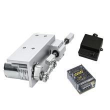 330LSet маленький типа сделай себе сам дизайн с возвратно-поступательным движением цикл линейный исполнительный механизм 12V 24V Ход 12/16/20 мм+ Переключение Питание+ Скорость контроллер