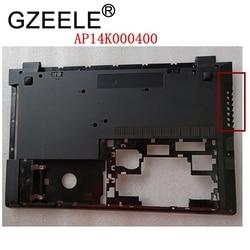 GZEELE nowy dla lenovo B50-30 B50-45 B50-70 B50-80 B51-30 300-15 B51-80 N50-45 N50-70 N50-80 główna osłona dolna przypadku AP14K000400
