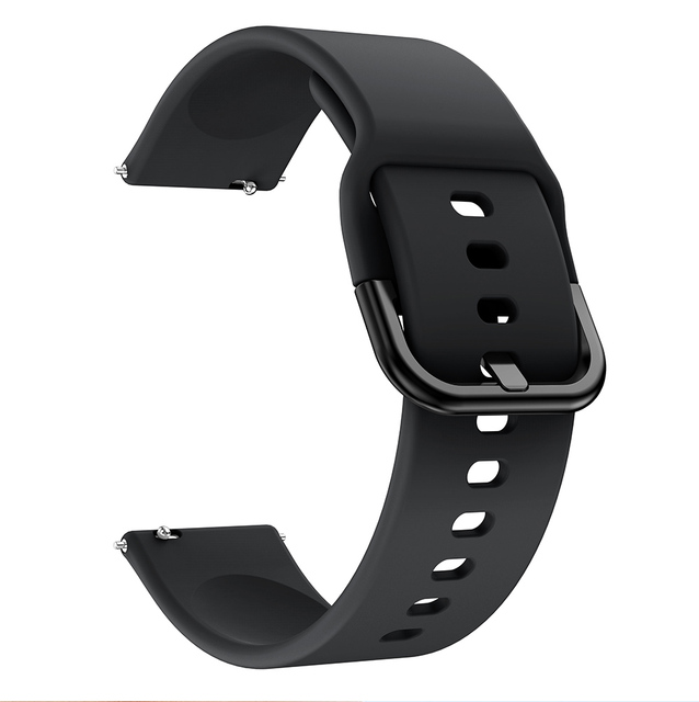 20mm Watch strap for Samsung Galaxy Watch Active 2 40/44mm Sport silicone Smart Wristbands for Samsung Gear S2 Classic 732 strap 3