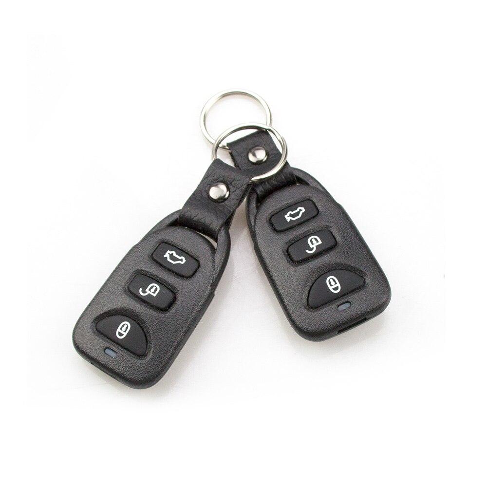 Eunavi Auto Alarm Systems Car Remote Central Kit Remote Central Door Lock Keyless System Central Locking Intelligent Control 5