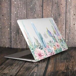 Image 2 - Coque de clavier à motifs de fleurs de marbre pour ordinateur portable MacBook Pro, pour MacBook Pro 13, 2019, Air 2020, 15 pouces, Retina Touch Bar A2251 A1932