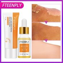 FTEENPLY Protective Milk + Astaxanthin Stock Solution Facial Sunscreen Cream Whitening Moisturizing Post-sun Repair Sun Screen biotherm waterlover sun milk spf15