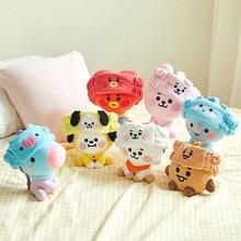 Kpop-peluches de peluquería Linda banda de animales para niñas, peluches de anime de dibujos animados, perro, conejo, koala, regalo Navidad peluche