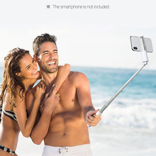 Wireless BT Selfie Stick Handheld Monopod with Fill light Phone for iPhone X/Xs/XR/8/8 Plus/7/7 Plus Samsung Galaxy Huawei(China)