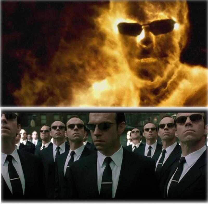 Очки солнцезащитные мужские без оправы 139 г