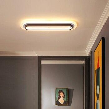 Modern LED ceiling lights for living room bedroom aisle balcony corridor acrylic aluminum home lighting ceiling lamp AC110-220V