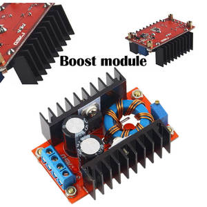 150 W DC-DC Boost Converter 10-32 V To 12-35 V 6 A Step-Up Power Supply Module Electric Step-Up Module Tool Charger Accessories
