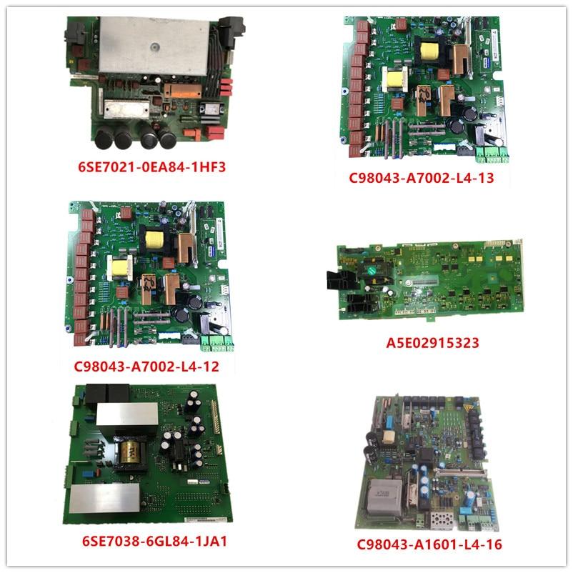 6SE7021-0EA84-1HF3|C98043-A7002-L4-13/12|A5E02915323|6SE7038-6GL84-1JA1|C98043-A1601-L4-16 Used