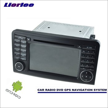 Liorlee For Mercedes Benz M Class W164 ML300 ML320 Car Android Navigation System Radio Stereo CD DVD Player GPS Navi Multimedia image