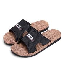 Bathroom Sandals Massage-Shoe Slipper Beach Slides Comfortable Summer Indoor Home EVA