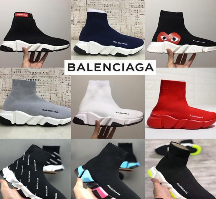 2019 Balenciagas Sock Shoes Speed