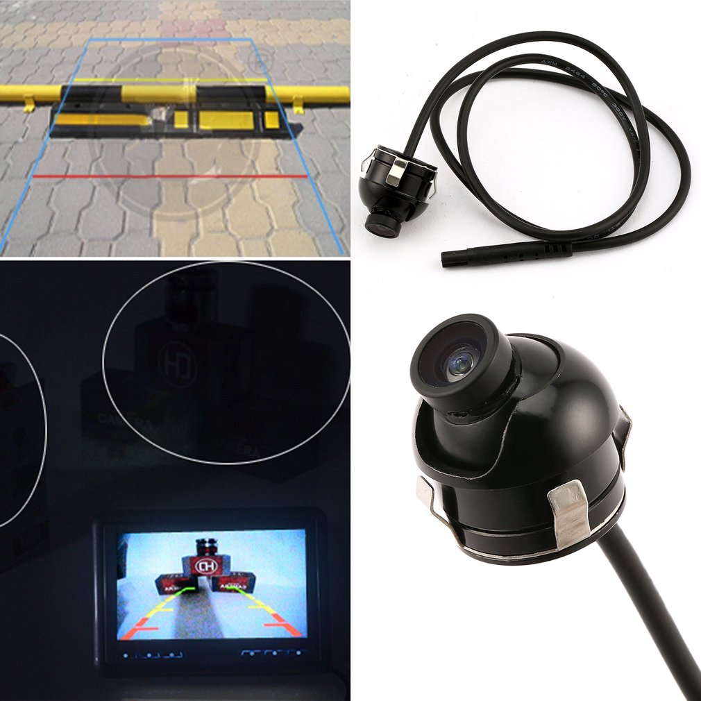 170 Degree Mini Car 18.5mm Rear View Camera Reverse Parking Back Up Car Radar DK-3601 Aluminum Alloy Shell