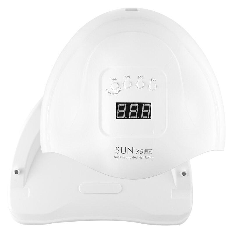 UV Led Lamp SUN X5 Plus Nail Dryer intelligent induction Ice Lamp LED/UV phototherapy lamp(China)