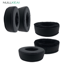 NULLKEAI החלפת לעבות Earpads עבור KOSS HV/X אוזניות זיכרון קצף Earmuff כיסוי כרית